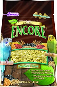 F.M.BROWN'S Encore Classic Natural Parakeet Food