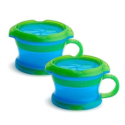 Munchkin 2 Piece Snack Catcher Blue//Green