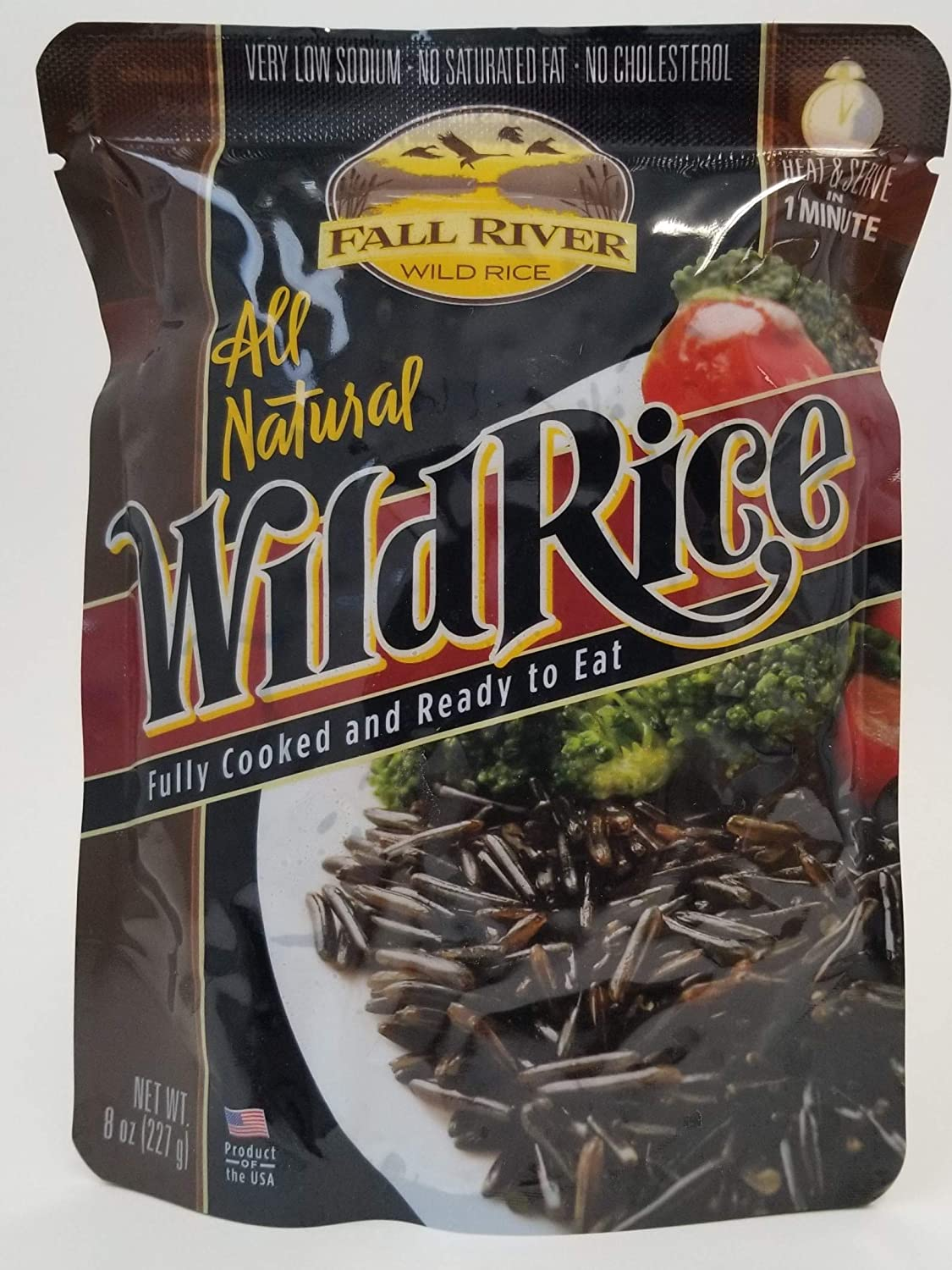Fall River Wild Rice Fully Cooked - 6 oz Pack of 6