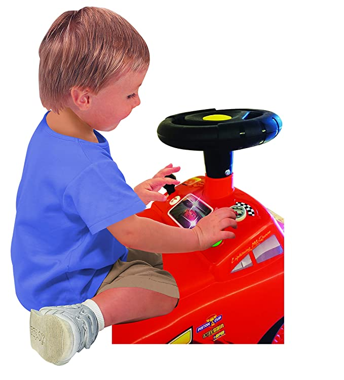 Amazon.com: Kiddieland Toys Limited My Lightning McQueen ...