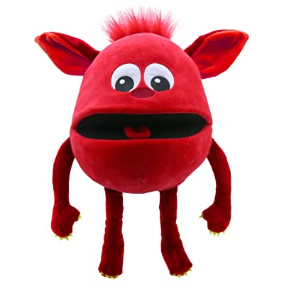 The Puppet Company Baby Monsters Red Monsters Hand Puppet: Toys & Games