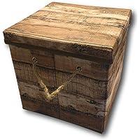 Caja de almacenaje Plegable con Tapa y Asa