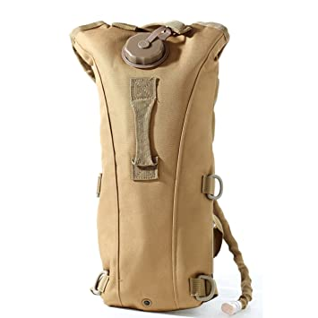 e87a775711 US Army 2.5L Hydration Pack Bladder Water Bag Pouch Hiking Climbing  Survival Outdoor Backpack (