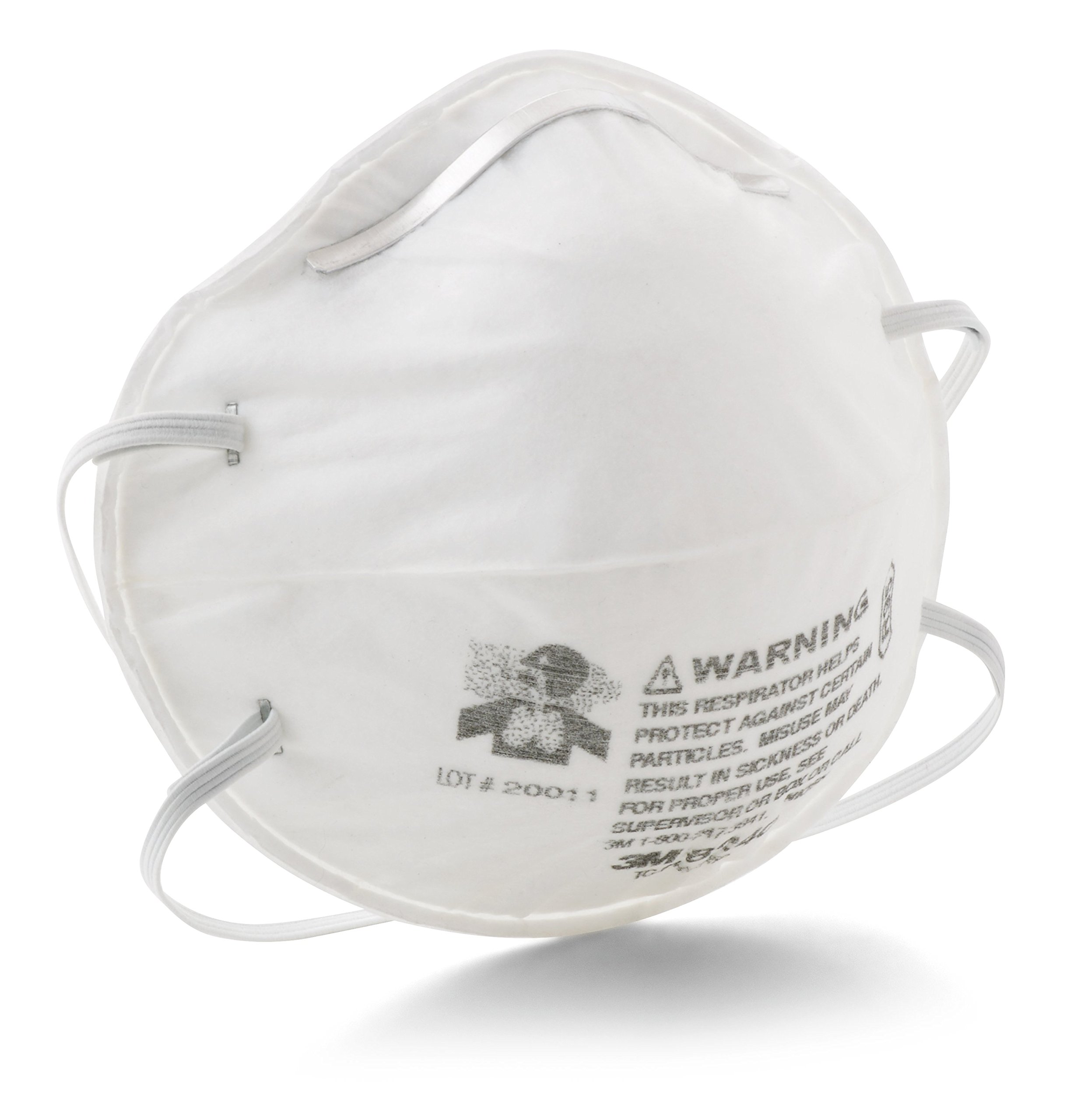 3M Particulate Respirator 8240, R95 by 3M Personal Protective Equipment