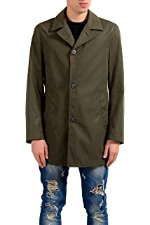 f11917cc8 Amazon.com: Hugo Boss Men's Dais 5 Water Repellent Trench Coat 48 ...