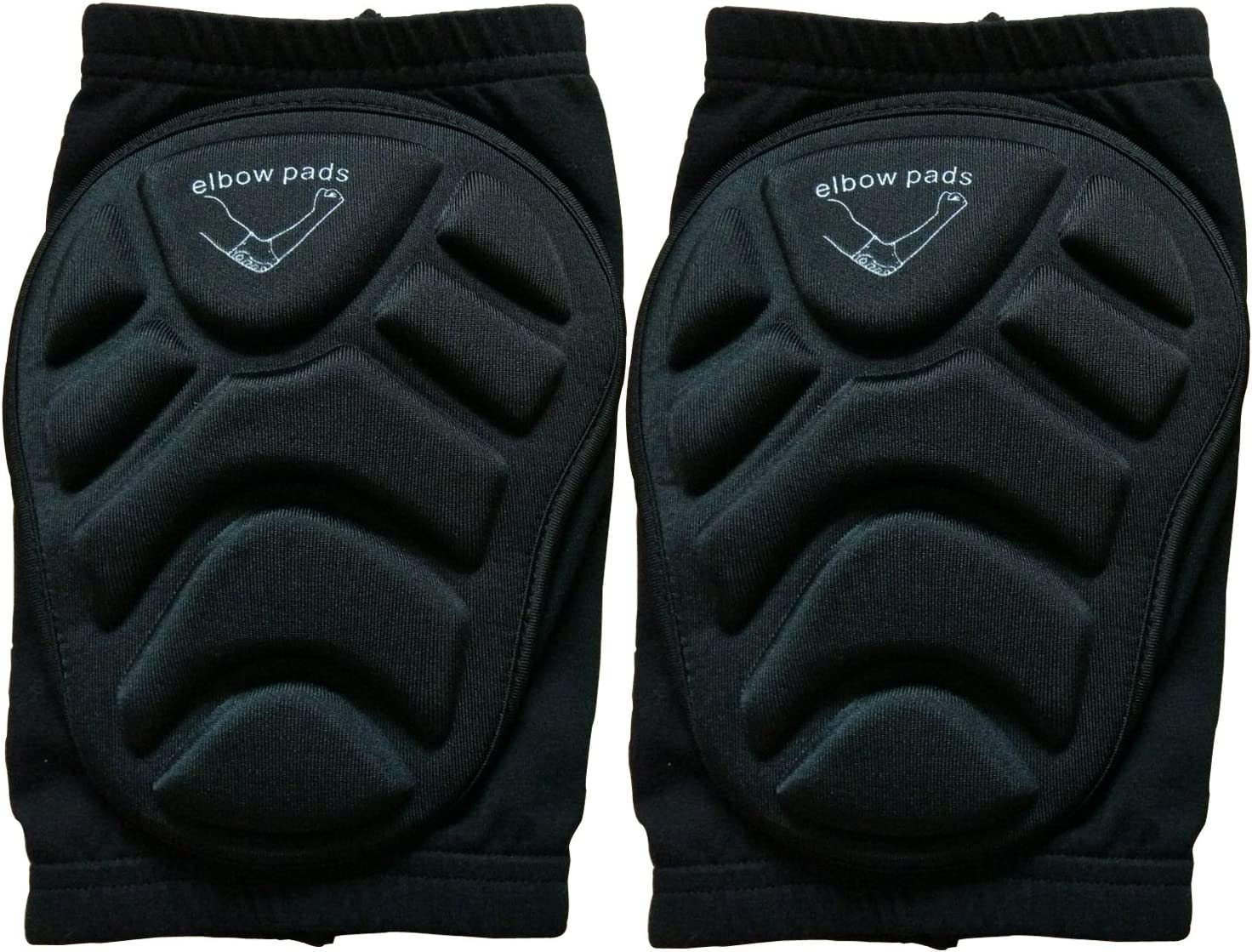 Guide Protective Elbow Pads Support Compression Padded Shooter Sleeve Protective Gear for Basketball Skateboard Skiing,Skating,and Cycling
