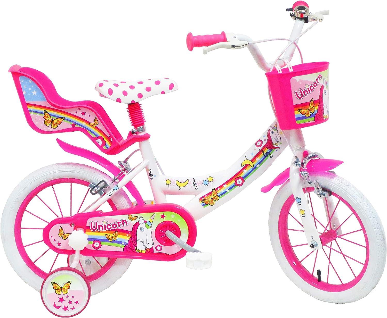 Denver - Bicicleta Infantil de 14 Pulgadas, diseño de Unicornio ...