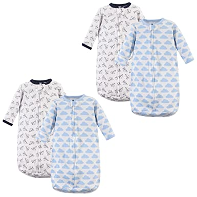871b36d04dc5 Amazon.com  Hudson Baby Safe Sleep Long Sleeve Cotton Sleeping Bag ...