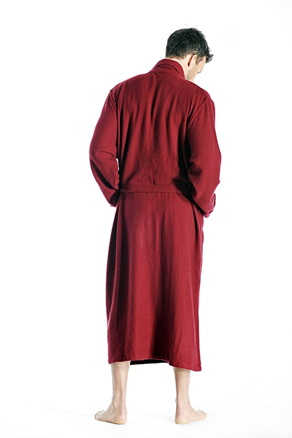 b6530811c0 Pure Cashmere Full Length Robe for Men at Amazon Men s Clothing store   Bathrobes