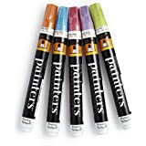 Elmer's Painters Opaque Paint Markers, Medium Point, Sherbert Swirl Colors, 5 Count