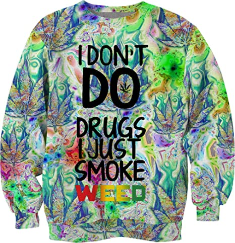 Amazon.com : Smoke weed every day quotes trippy hipster ...
