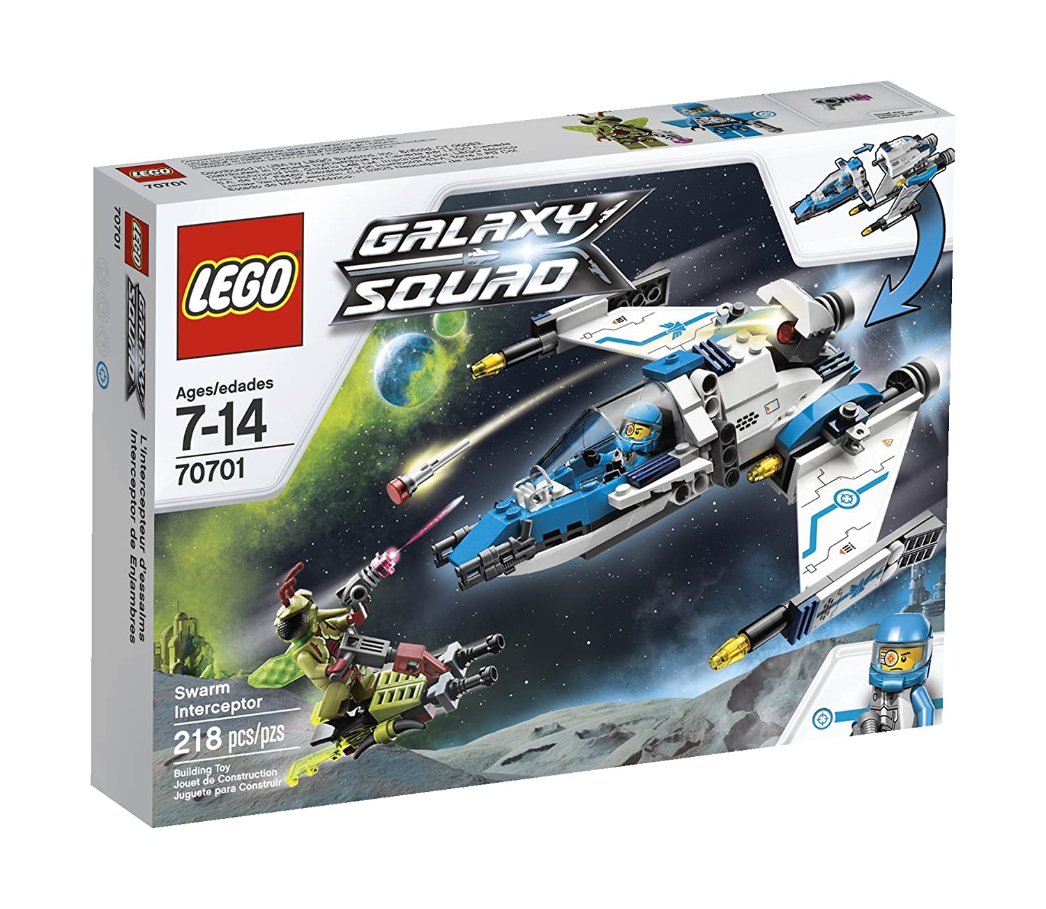 amazon com lego galaxy squad swarm interceptor 70701 toys games rh amazon com
