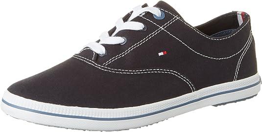 Tommy Hilfiger INT E1285rin 4d1, Zapatilla de Deporte Baja del Cuello para Mujer: Amazon.es: Zapatos y complementos