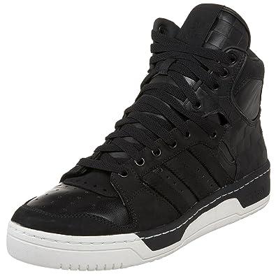 Adidas Originals hombre 's director sneaker, negro / negro / blanco Chalk
