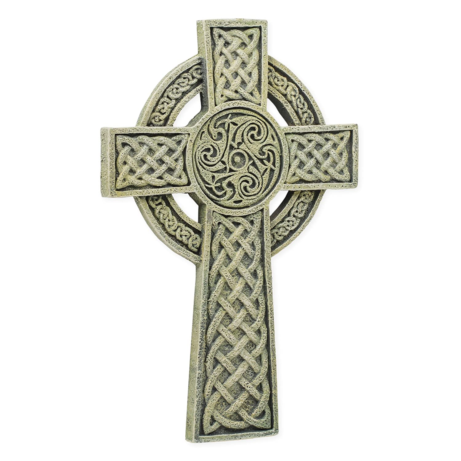 Roman Celtic Irish Wall Cross 9 inch Joseph Studio by