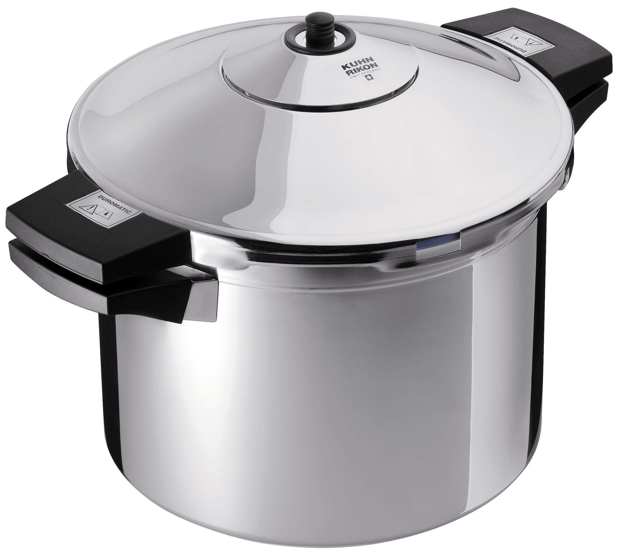 Kuhn Rikon Stainless-Steel Pressure Cooker, 8 qt