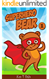 Superhero Bear : superheros books for kids (cute superhero for kids)