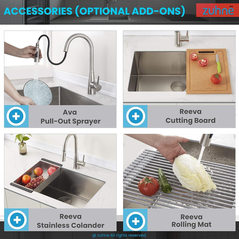 Best Undermount Kitchen Sinks for Granite Countertops