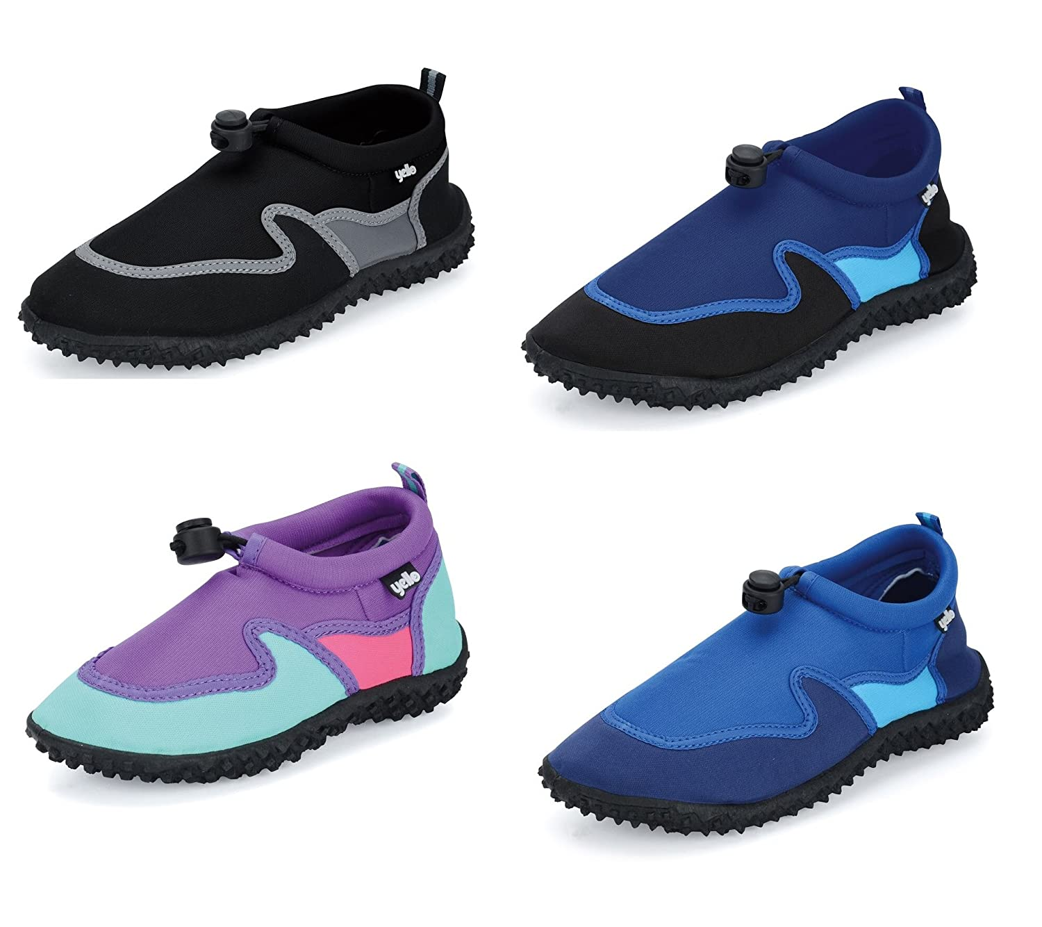 Yello Boys/Girls Infant Aqua Shoes, Beach Shoes, Wetsuit Shoes, Childs Shoes Choice of Colour FW919