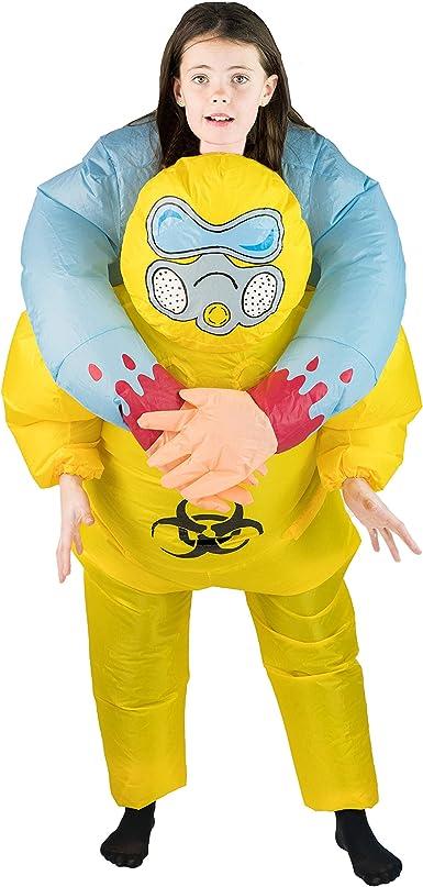 Amazon.com: Bodysocks - Disfraz inflable de biopeligro para ...
