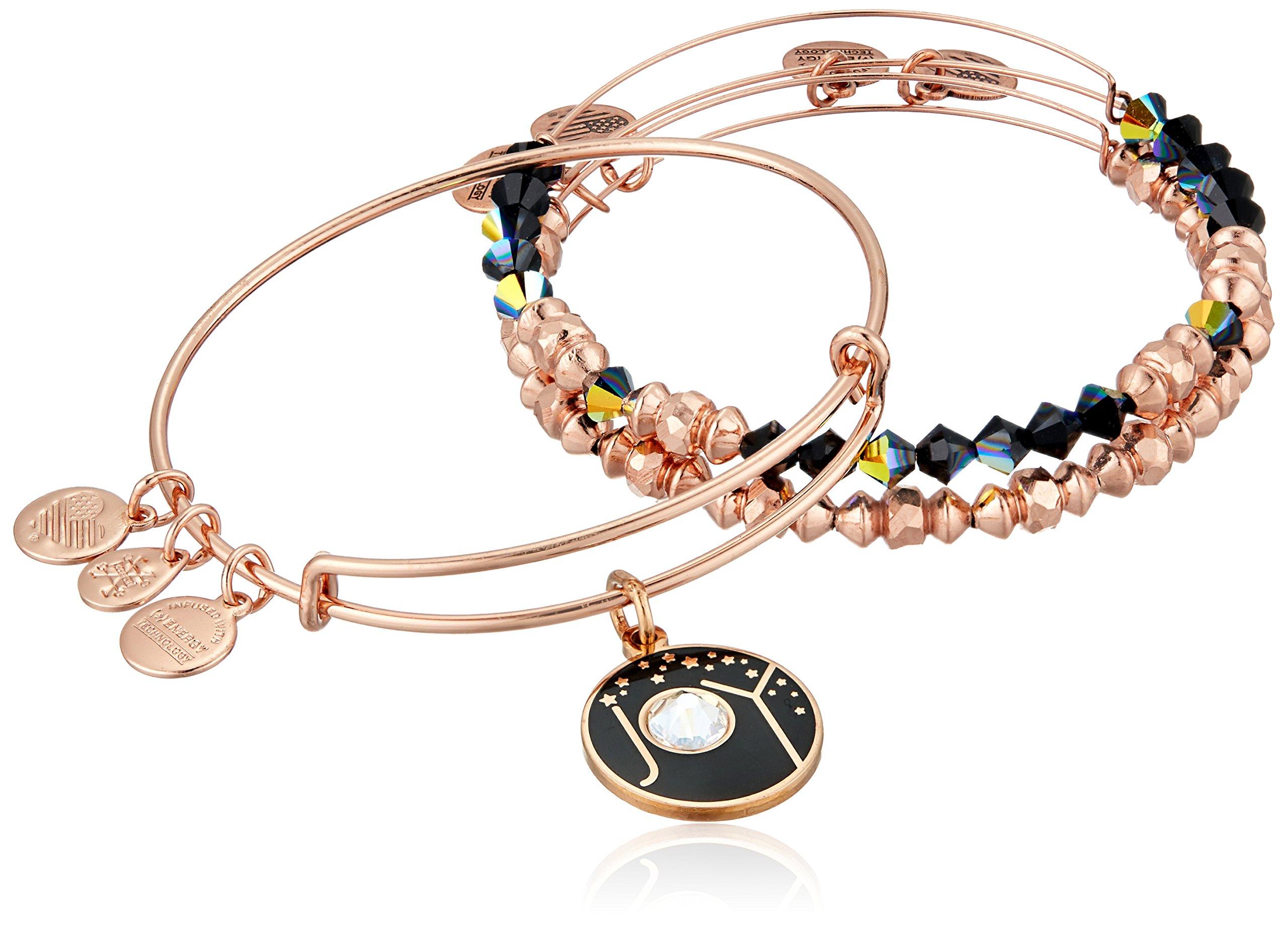 Alex and Ani Joy Set of 3 Bangle Bracelet