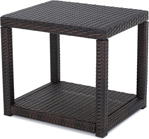 Christopher Knight Home Boracay Outdoor Wicker Accent Table