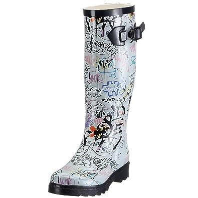 35f0191075646f Beck Graffiti , Bottes pluie Femme: Amazon.fr: Chaussures et Sacs