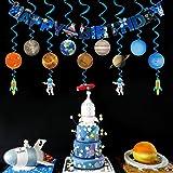 Solar System Hanging Decoration(15Pack),Konsait
