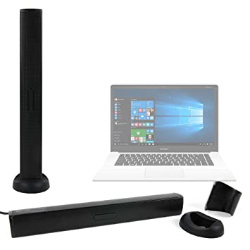 DURAGADGET Altavoz Soundbar para Portátil Chuwi LapBook Air/InnJoo LeapBook A100 / Prixton Netbook 10.1