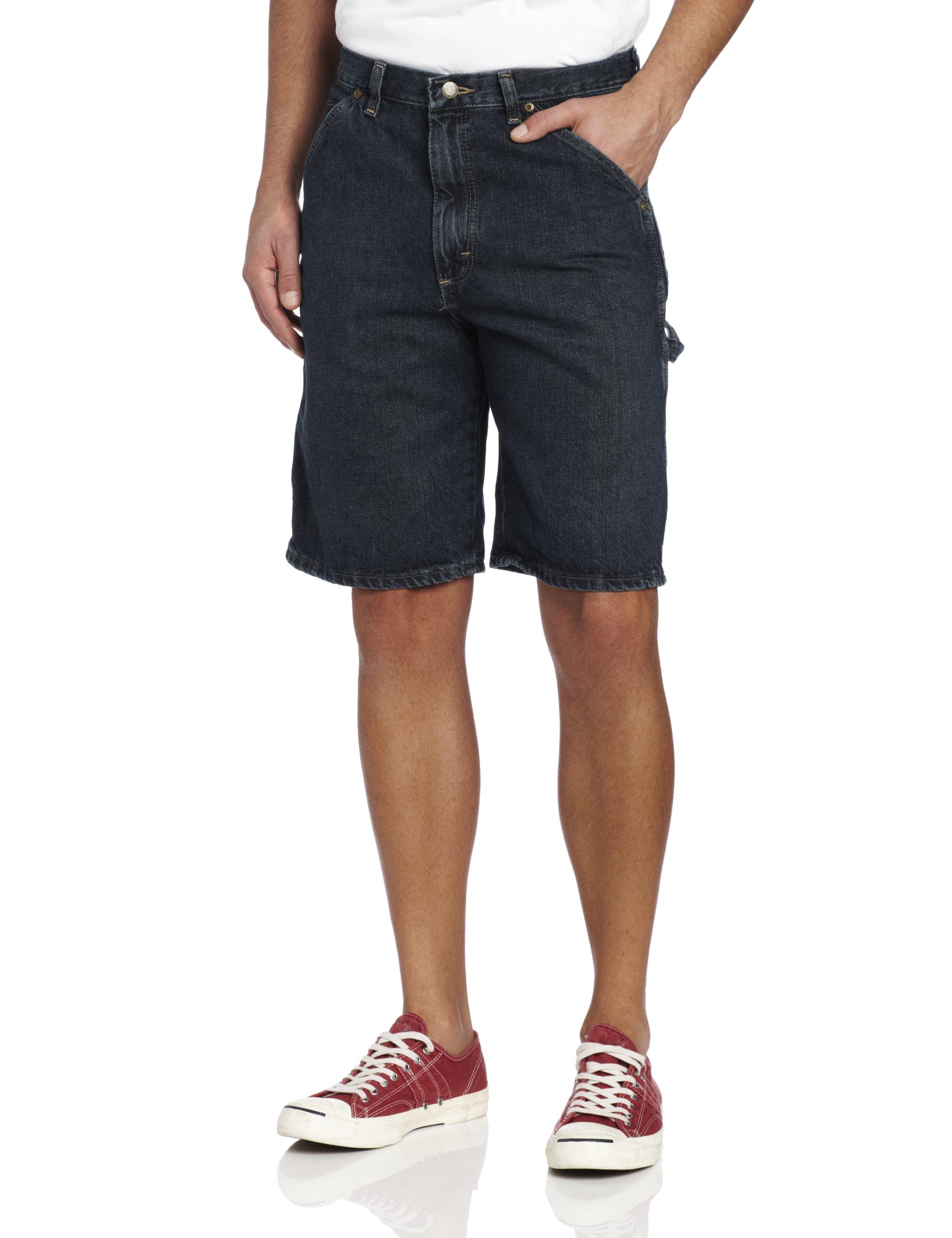 Wrangler Men's Rugged Wear Carpenter Short, Dark Quartz, 40