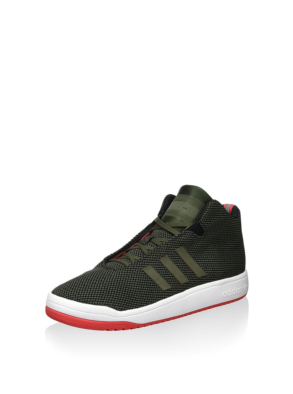 Adidas Herren Veritas Hightop Turnschuhe, Schwarz, 40 EU