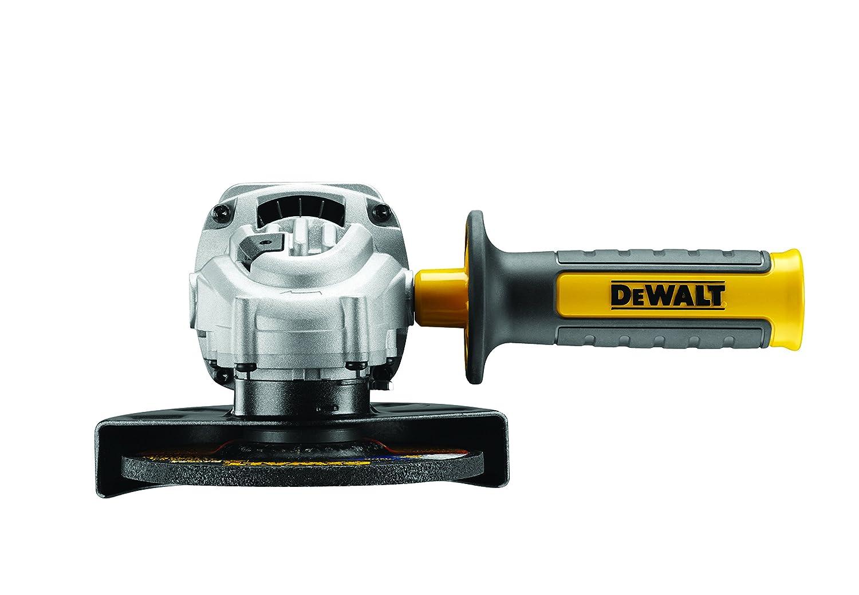 DeWalt DWE4237K-QS malet/ín Mini-amoladora 125mm 1.400W 11.500 rpm Arranque Suave Bloqueo y re-arranque