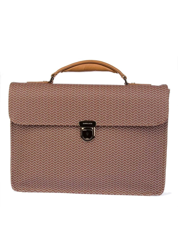 Zanellato メンズ 3609358L5 ブラウン 革 作業袋 B079J4332B  UNI JP - Brand Size UNI