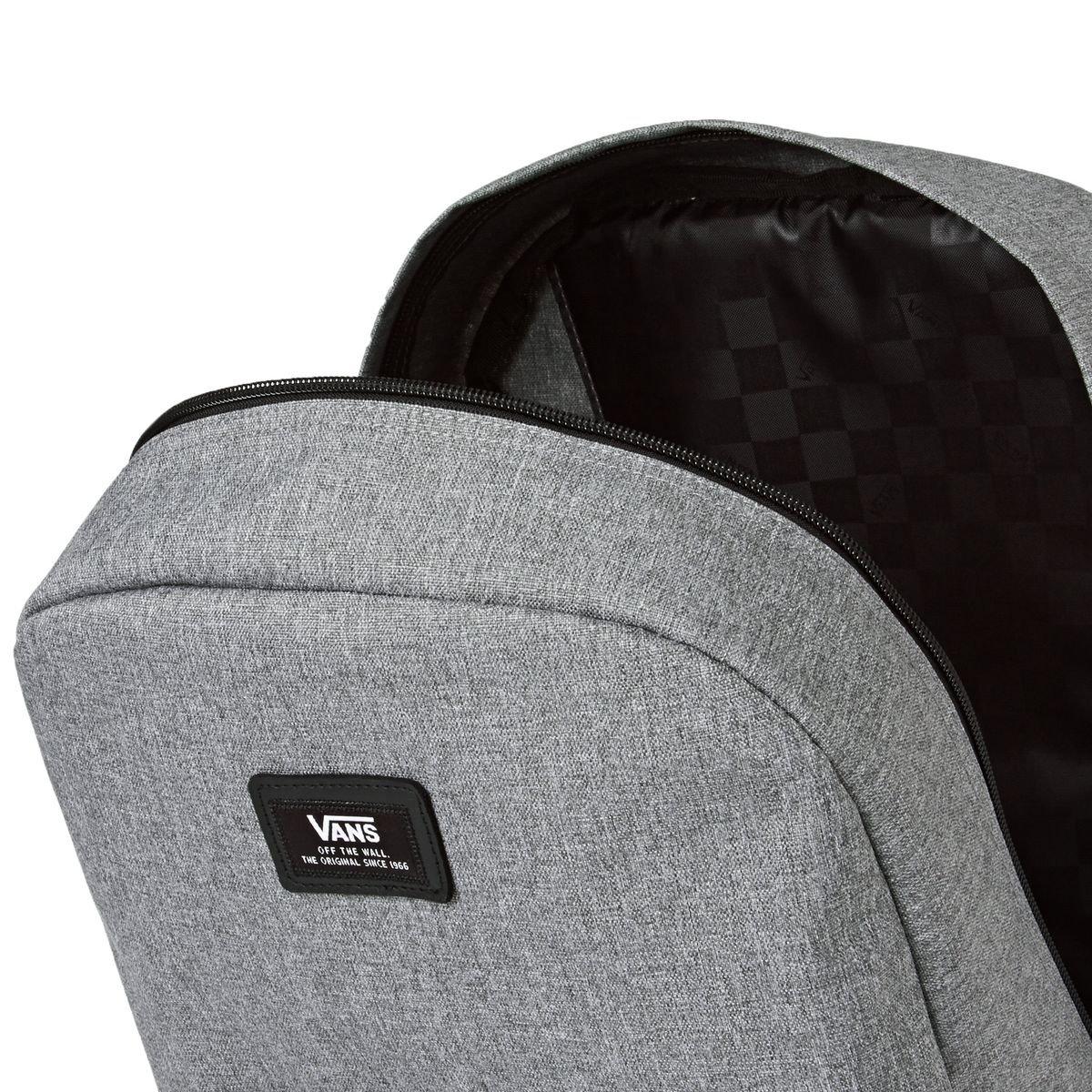 Amazon.com: Vans Old Skool II Logo Grey Backpack: VANS: Sports & Outdoors