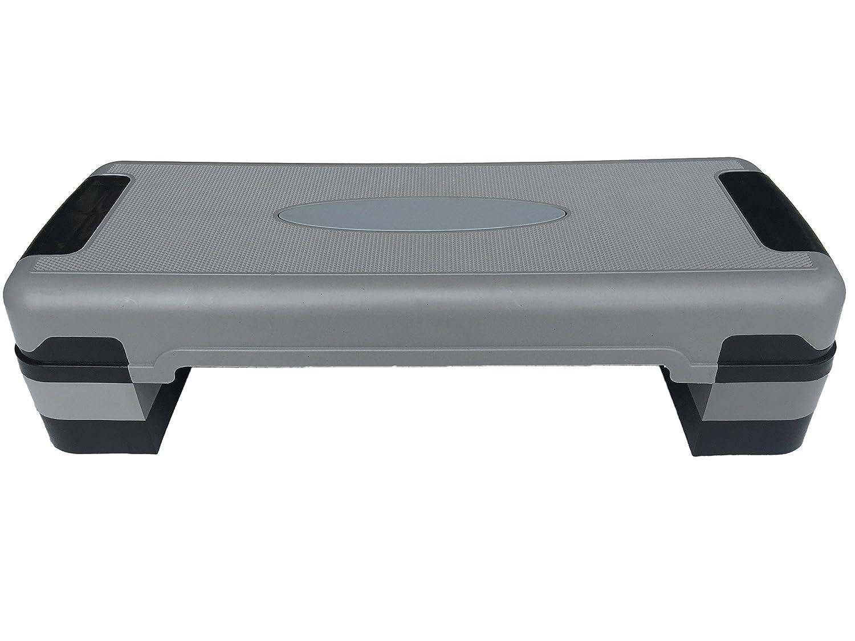 "KKB Sport 32/"" Height Adjustable Aerobic Step Platform Fitness 3 Level Gym Stepper"