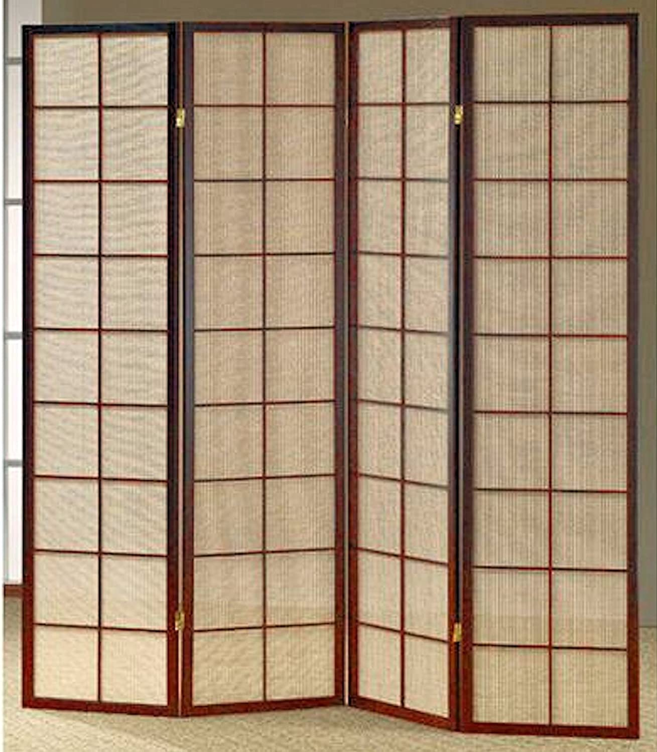 Amazoncom Legacy Decor Fabric In Lay Folding Room Screen Divider - Cherry blossom room divider screen