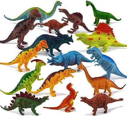 Conjunto De Juguetes De Dinosaurios De Aspecto Realista Para Ninos Paquete De 78