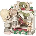 Precious Moments Hearth Warming Christmas - Figura Decorativa (Porcelana, tamaño único), diseño de Madre e Hija