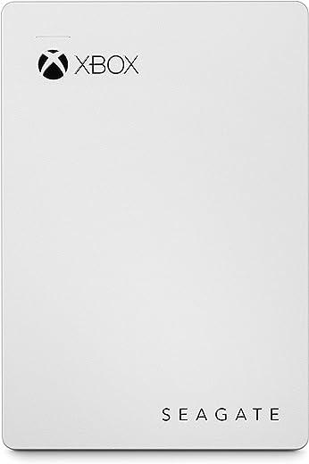 Seagate STEA2000417 2 TB Portable Hard Drive - External - White