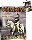 "Midsouth Products John Wayne Throw Blanket 50"" X 60"" Courage"