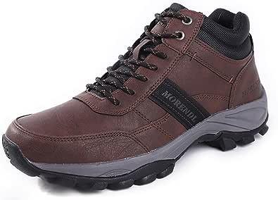 MORENDL الرجال المشي لمسافات طويلة في الهواء الطلق الرحلات تسلق تسلق خفيفة الوزن عارضة المشي المضادة للانزلاق الأحذية الرياضية