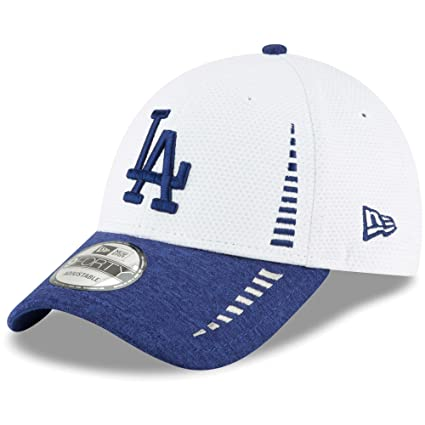 54aa2af816f Image Unavailable. Image not available for. Color  Los Angeles Dodgers New  Era Speed Tech 9FORTY Adjustable Hat White