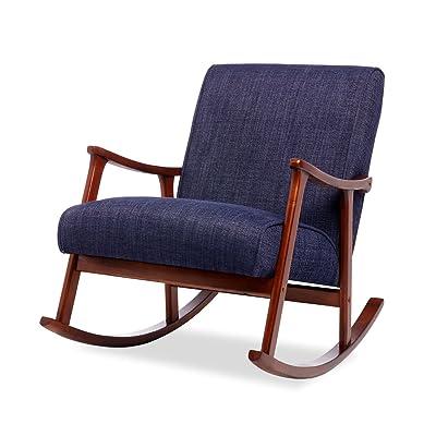 Amazon Com Furniture Of America Oria Rocking Chair Dark