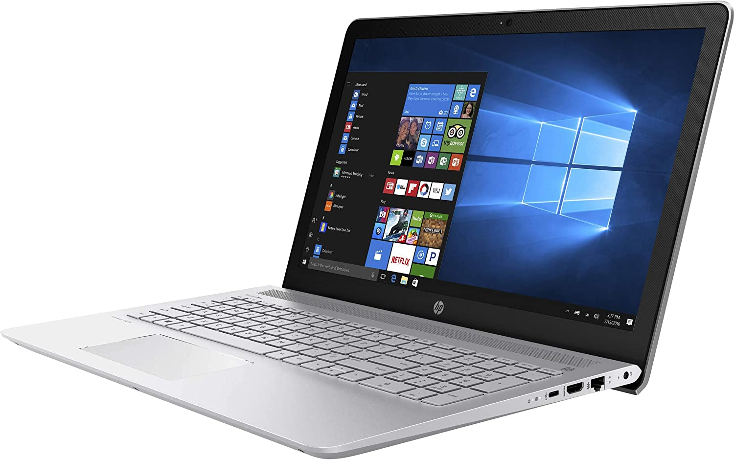 "HP Pavilion 15 15.6"" IPS Touchscreen Full HD (1920x1080) Business Laptop - 8th Gen Intel Quad-Core i5-8250U, 8GB DDR4, 1TB HDD, USB Type-C, FHD IR Webcam, WiFi AC, HDMI, Ethernet RJ-45, Windows 10"