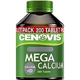 Cenovis MEGA Calcium + D - 200 Tablets