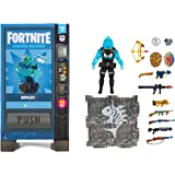 Fortnite Vending Machine, Includes Highly-Detailed and Articulated 4-inch Rippley Figure, Weapons, Back Bling, Building Mater