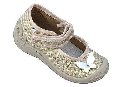 8a62203d2b15e Chaussons bébé fille avec Velcro  quot Respirant quot  Sucré Chaussons bébé  4 Couleurs avec Semelle