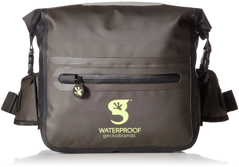 Geckobrands Waterproof Tarpaulin Dry Bag Waist Pouch GWP-15963BK