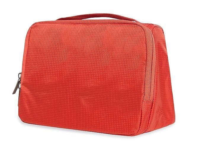 Amazon.com  90FUN Waterproof Toiletry Bag Cosmetic Case Makeup Bag Travel  Organizer Pouch Shaving Kit Red  Clothing 4366f408cbaa2