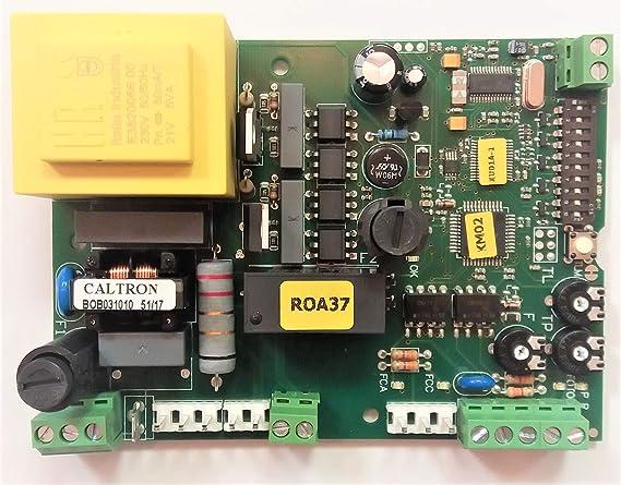 Nice ROA37 central de control de tarjeta electrónica para THOR y ROBO: Amazon.es: Bricolaje y herramientas
